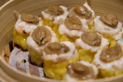 "Si Chuan Dou Hua Nostalgic Dim Sum Buffet Feast Is Back - ""Siew Mai"" with Diced Abalone 鲍鱼什烧卖"