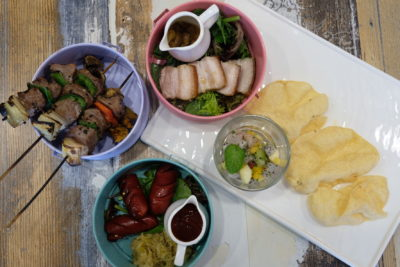 Scissors Paper Stove At Teck Chye Terrace, Communal Dinning with Local-Twist Western Dishes - Tapas