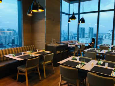 SKY22 At Courtyard by Marriott Singapore Novena Refreshes With A New Semi-Buffet Menu - Dinning Area