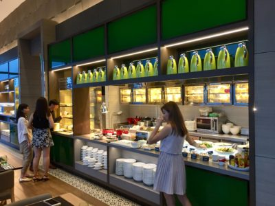 SKY22 At Courtyard by Marriott Singapore Novena Refreshes With A New Semi-Buffet Menu - Salad Bar