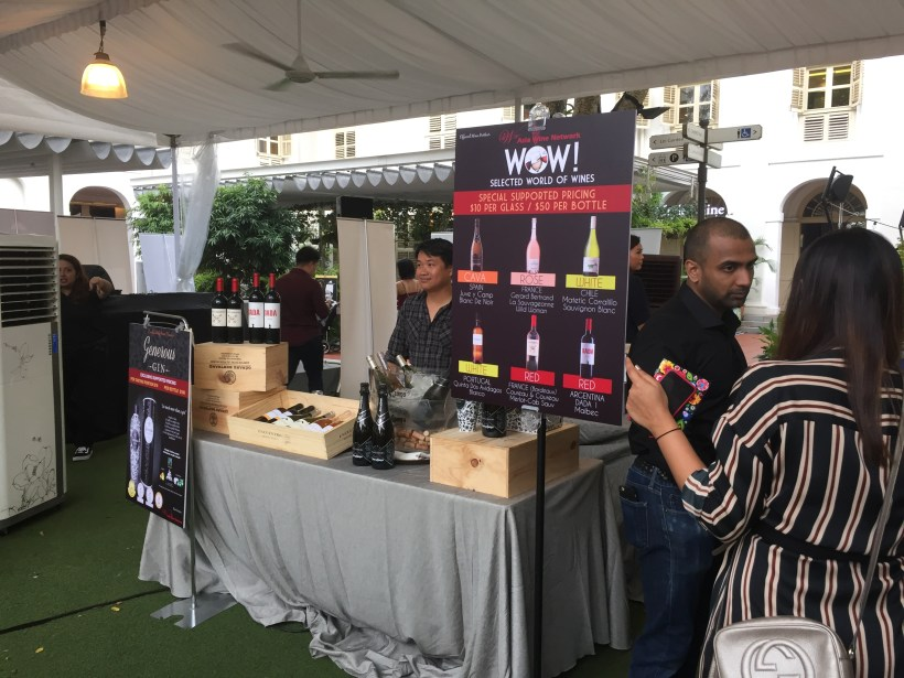 2018 World Gourmet Summit, The Discovery @ CHIJMES - Stall at CHIJMES