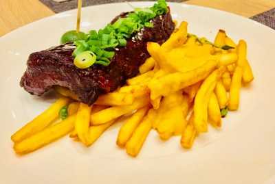 SKY22 At Courtyard by Marriott Singapore Novena Refreshes With A New Semi-Buffet Menu - Char Siew Barbeque Ribs