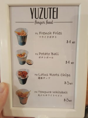 Yuzutei At Pasir Pahang Road Offers Flavourful Yuzu Shabu Shabu And Hot Stone Grill - Finger Food Menu