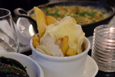 Browns Restaurant In Covent Garden, A Restaurant To Experience Classic English Fare - Thick cut fries with Parmesan & Truffle oil (£4.50)