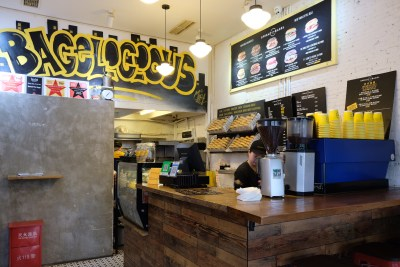 Spread The Bagel At Nanchang Road For A Bagelicious Experience - Interior at a glance