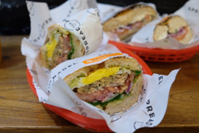 Spread The Bagel At Nanchang Road For A Bagelicious Experience - Fatty Salmon Patty (68 RMB)