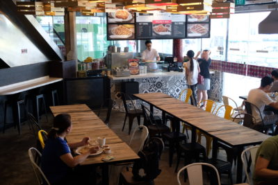 Makanista At Tampines Mall, A Food Court Offering Local Food With A Local Twist - Dinning Area