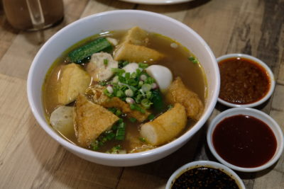 Makanista At Tampines Mall, A Food Court Offering Local Food With A Local Twist - Soto Yong Tau Foo ($7.50)