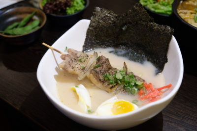 Hibiki Lunch Set, Good Value-For-Money Selection - Hibiki Yakitori Paitan Ramen ($15)