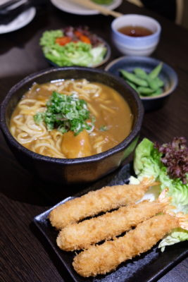 Hibiki Lunch Set, Good Value-For-Money Selection - Curry Udon ($13)