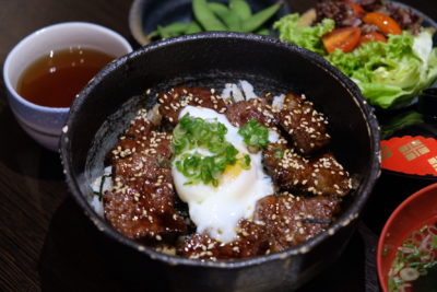Hibiki Lunch Set, Good Value-For-Money Selection - Hibiki's Wagyu Don ($19)