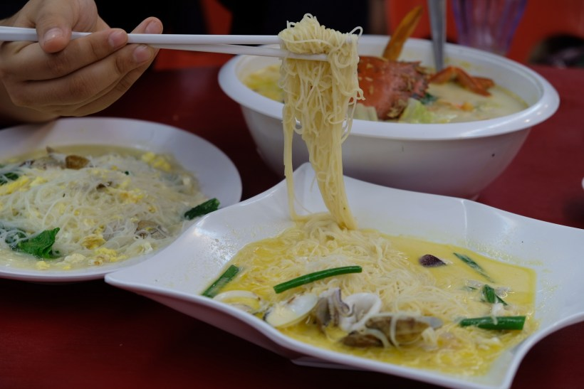 Fuman Seafood Tzechar At Tampines West, Crab And Mee Hoon And More - Mee Hoon and Crab Feast