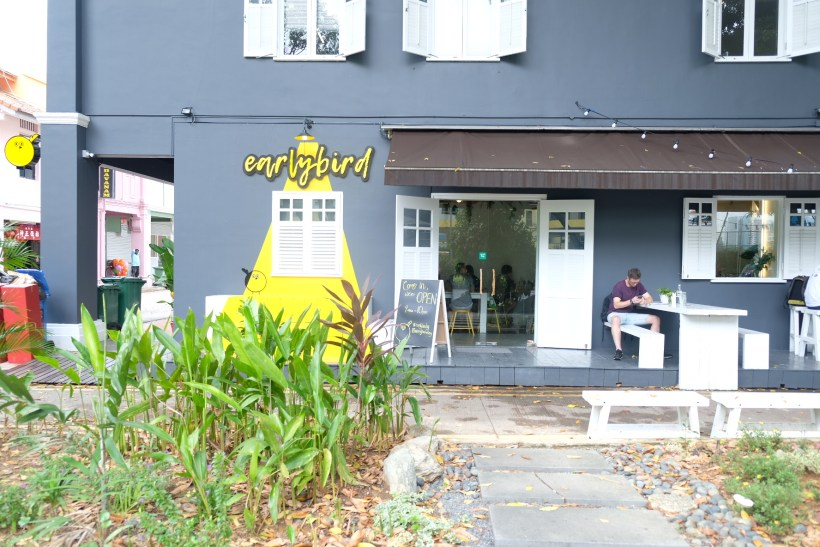 Earlybird Cafe At Jalan Pinang, Delicioius Pancake and Gorgeous Space - Facade Overview