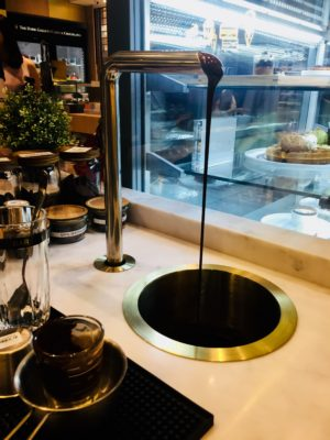 The Dark Gallery @ Takashimaya, A New Cafe And Chocolate Boutique - Mod-Bar® pour-over and steam system