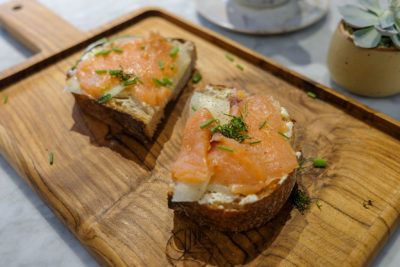 The Social Space, Social-Conscious Cafe With Retail And Nail Parlour At Kreta Ayer - Smoked Salmon Toast