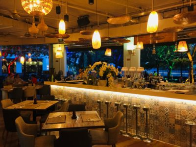 Re-discover the Diverse Flavours of South East Asia at River Wok - interior