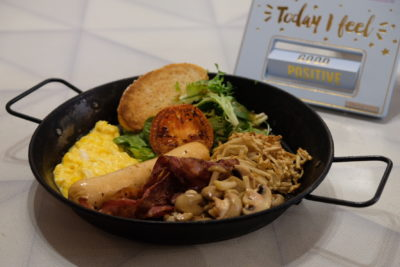 Good Old Days Bistro At Beach Road With Playful Interior - The Hearty Brekkie ($16.90)