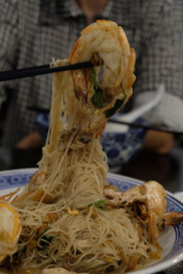 Da Shi Jia Big Prawn Noodle 大食家大大大虾面 At Killiney Road - Big Prawns and Braised Bee Hoon