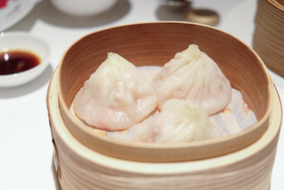 Madame Fan By Alan Yau At The NCO Club - Siew Long Bao 上海小笼包 ($8)