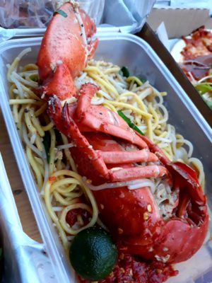 One Faber Group @ Sentosa Grillfest – Lobster Hokkien Noodles