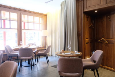 Assiette Blanche, A Bib Gourmand Restaurant With Value-For-Money Lunch Set - Dining Area