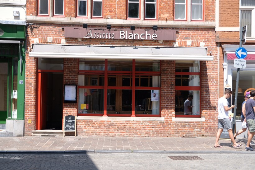 Assiette Blanche, A Bib Gourmand Restaurant With Value-For-Money Lunch Set - Facade