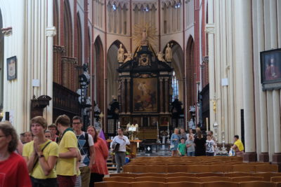 Bruges Catholic Churches Mass Schedule - Sint-Salvator Cathedral