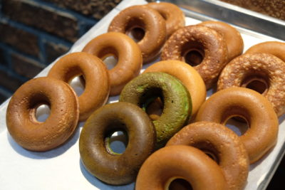 K For Kakuida's And For Kurozu Is At Icon Village With Delicious And Yet Healthy Donut & Drinks - Donut