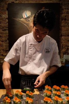 Singapore Restaurant Festival 2018, Dine And Get Rewarded - Chef at The Flying Squirrel At Work