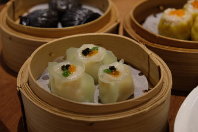 Tien Court Offering 53% Discount For Dim Sum At Copthorne Kings - Steamed Crystal Dumpling with Scallops and Vegetable 翡翠带子饺 ($6.50)
