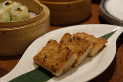 Tien Court Offering 53% Discount For Dim Sum At Copthorne Kings - Fried Carrot Cake with Dried Scallop 干贝萝卜糕 ($5.80)