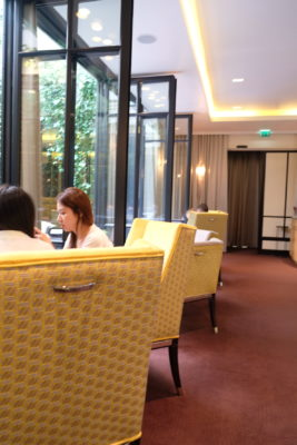 Le Baudelaire, A One Michelin Star French Restaurant Near The Louvre - Interior