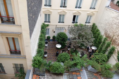Hotel Bienvenue Paris In Opera Area With Subway Within Walking Distance - View from the room