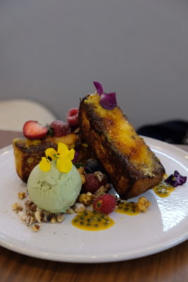Five Oars Coffee Roasters, New Hipster Cafe Along Tanjong Pagar Road - Creme Brulee French Toast ($18.50)