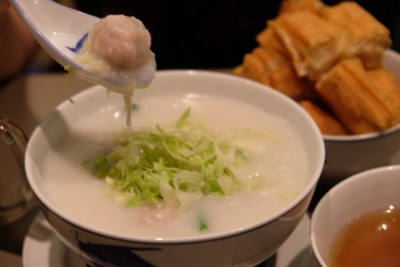 Mui Kee Congee, Famous Hong Kong Congee Here At Shaw Centre - Homemade Pork Meatball