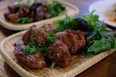Daily Affairs, A Hidden Cafe At Cairnhill Community Club - Soy Garlic Chicken Wings, Half dozen ($9.50)