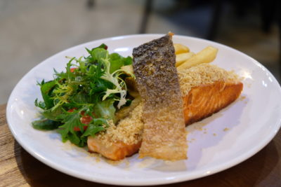 Daily Affairs, A Hidden Cafe At Cairnhill Community Club - Altantic Pink Salmon ($17)