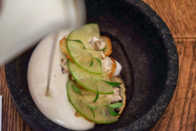 The Butcher's Wife, A Gluten-Free Restaurant, At Yong Siak Street - Chilled Almond Soup ($17)