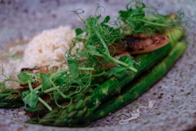 The Butcher's Wife, A Gluten-Free Restaurant, At Yong Siak Street - Grilled Asparagus ($25)