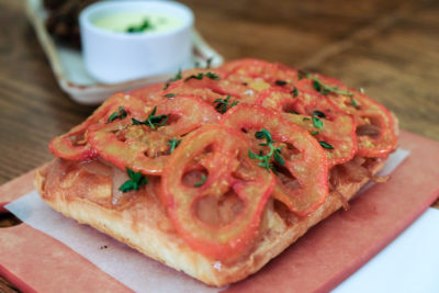 The Butcher's Wife, A Gluten-Free Restaurant, At Yong Siak Street - Baked Focaccia ($9)