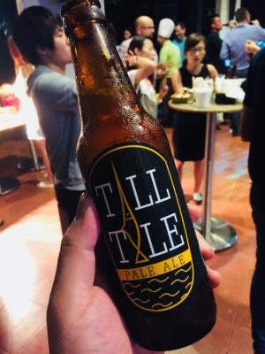 Tall Tale Pale Ale, First Exclusive Hotel Craft Beer Available In Bottle Now At Four Points Riverside Singapore - Bottled Tall Tale Pale Ale