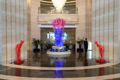 Crowne Plaza Shanghai Noah Square In Putuo - Lobby