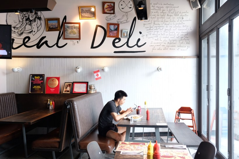 Tock's Shanghai, An Authentic Montreal Deli Experience Even Canadian Prime Minister Justin Trudeau Dine There - Interior, Another view