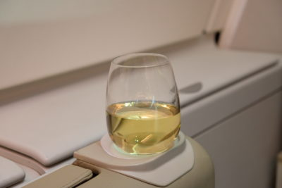 Singapore To Mumbai On SQ424 Business Class, Airbus A380-800 - Refreshment