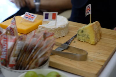 Singapore To Mumbai On SQ424 Business Class, Airbus A380-800 - Selection of Cheese