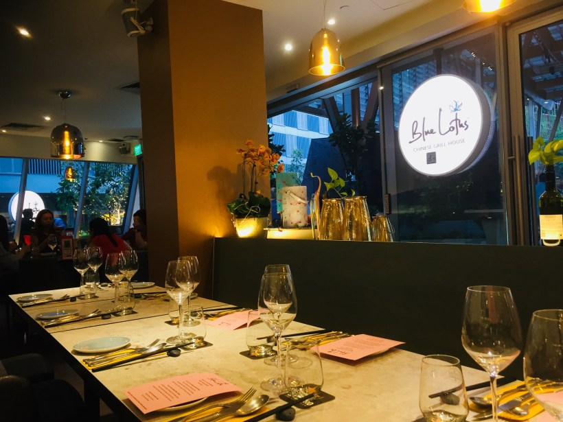Fantastic Dining Experiences of Blue Lotus Restaurants Singapore - A view