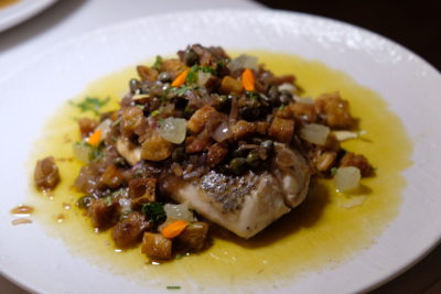 Butter At 35 North Canal Road Where Drinks and Dishes Meet - Brown Butter Fish ($26)