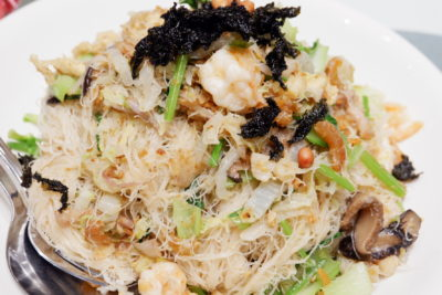 Rare Red Mushroom At PUTIEN, One Michelin Star on Kitchener Road - Fried Heng Hwa Bee Hoon