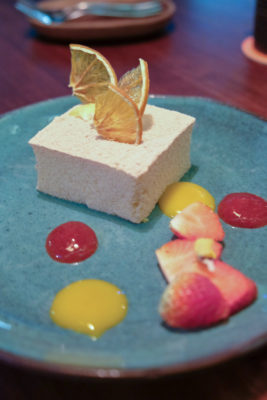 Birds Of A Feather At Amoy Street, Modern Sze Chuan Food In Western-Style - Tropical Mousse Cake ($11)