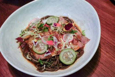 Birds Of A Feather At Amoy Street, Modern Sze Chuan Food In Western-Style - Pig Ear Mosaic ($18)
